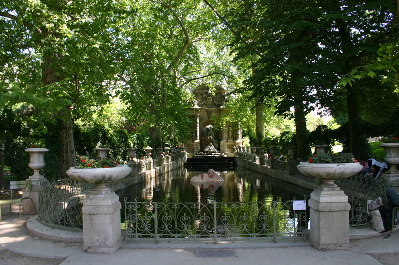 Nägu Luxembourgi aias