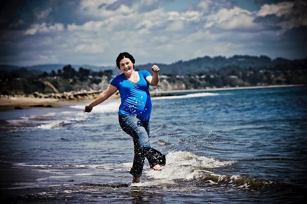 Michelle (Maternity Photography, Capitola Beach, California) 2011.05.09