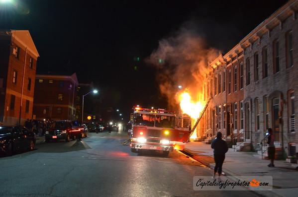 04-28-15 - Baltimore, MD - N. Mount & Baker Sts