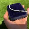 10.50ctw Round Brilliant Diamond Tennis Bracelet 30