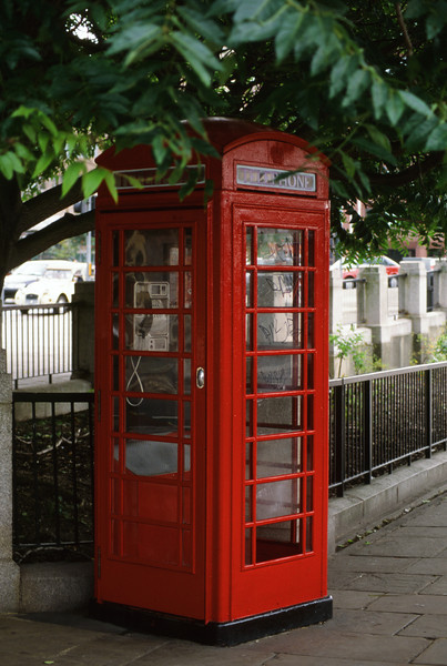 An English Telephone Booth