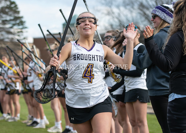Broughton girls varsity lacrosse vs Middle Creek. February 28, 2020. MRC_5411