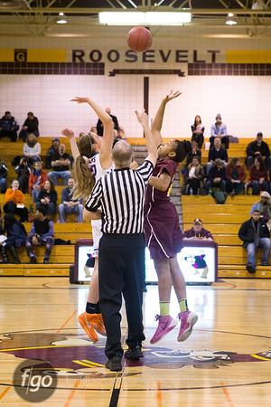 1-16-15 Minneapolis Washburn v Minneapolis Roosevelt Girls Basketball