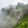 Misty Waterfall, Bucegi, Romania