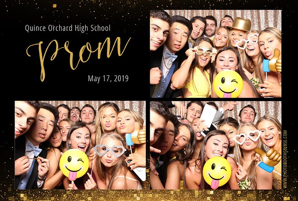 Quince Orchard High School Prom 2019