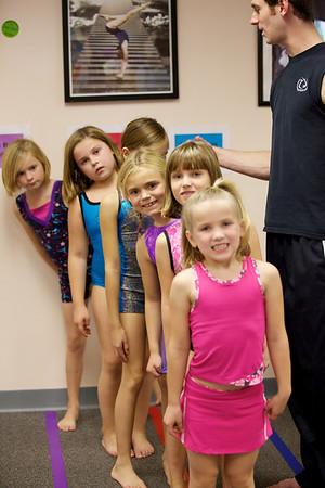 Girls Level 2 Monday 5:00 pm Fall 1, 2010