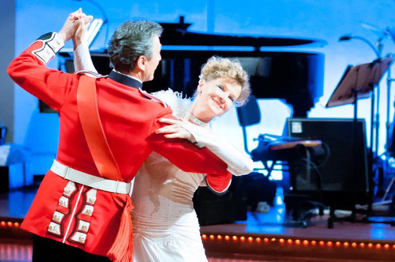 Professionelle Tänzer aus Deutschland waren auch dabei.