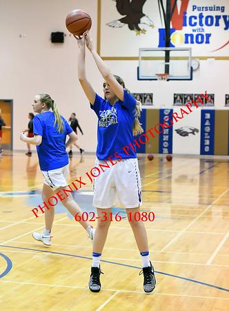 1-10-2017 - O'Connor v Boulder Creek - Girls Basketball Game