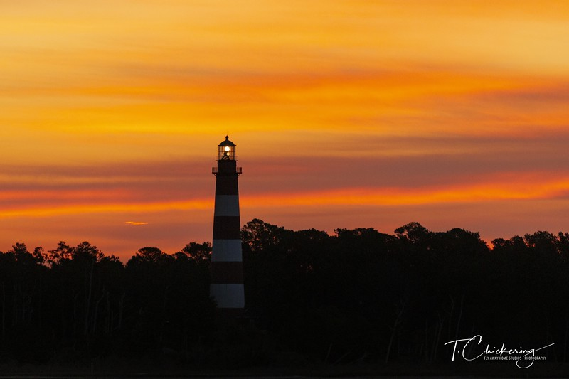 Assateague Island Lighthouse at Sunrise Two.jpg