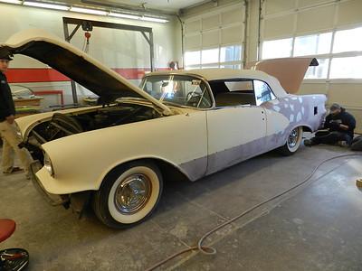 1956 Oldsmobile 98 Starfire Convertible - Mike Schnetzer