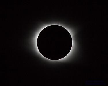 2017 Solar Eclipse - photos of the sun