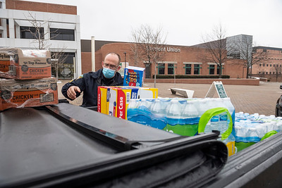 55711 Wright State Police Food Pantry Donation 12-17-20