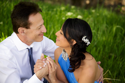 Frank and Lourdes Pre-Wedding Celebration at Cinder Wines in Garden City, Idaho