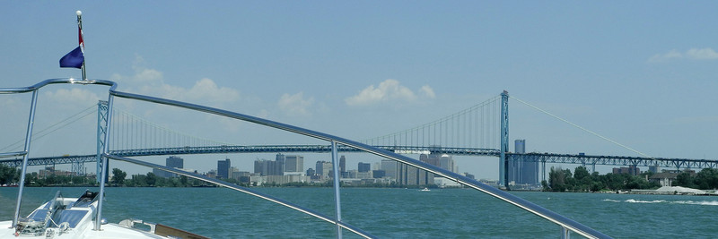 Ambassador Bridge - Detroit River