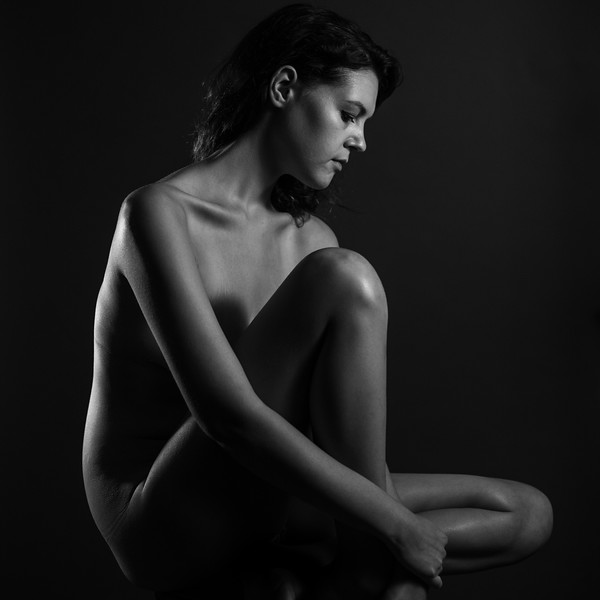 Nude in Black and White