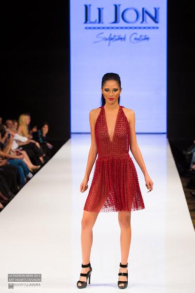 House of Li Jon LA Fashion Week 2015 Art Hearts Fashion