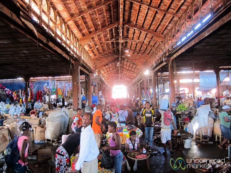 Inside Cap-Haïtien's Market - Haiti