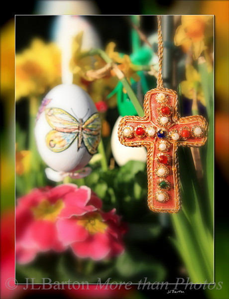 Hand made Easter ornaments Austrian