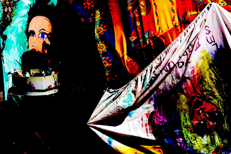 Artist at Work - Venice Beach, California - September 2006