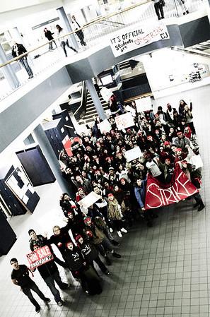 #NOV10 DSU Student Strike
