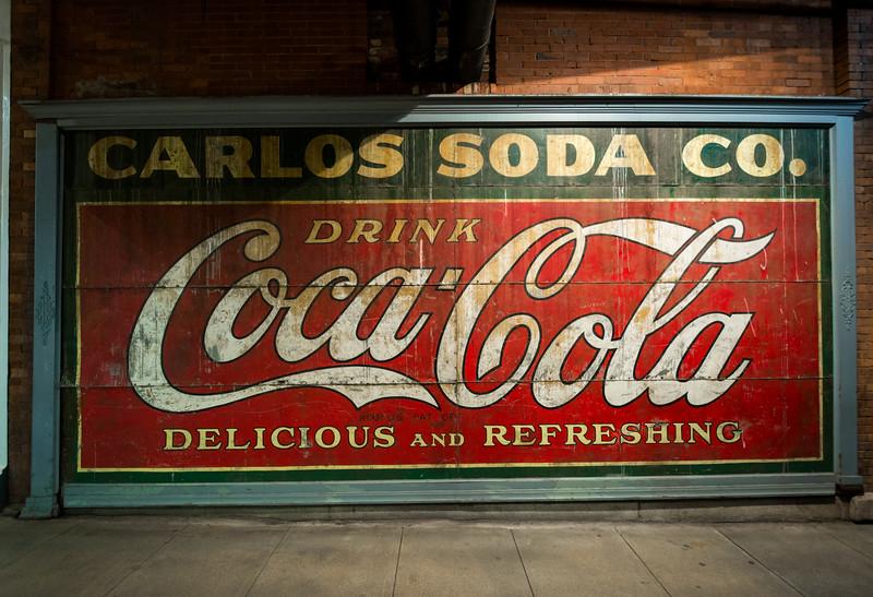 GA, Atlanta -Coca-Cola Wall Sign 04
