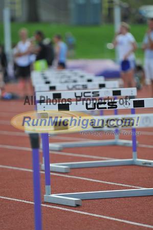400 Hurdle Prelims - 2013 GLIAC Outdoor Track and Field Championships