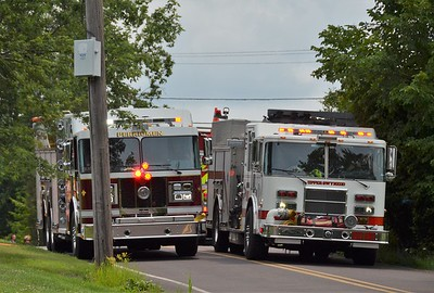 7.22.2021  House Fire Bergeys Mill Rd Lower Salford Twp