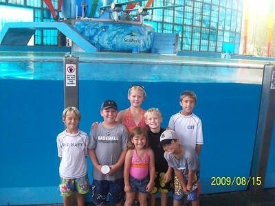 2009 Youth Seaworld Trip