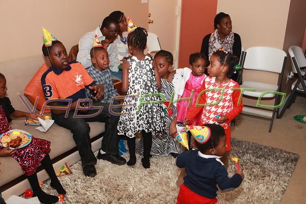 Eliel First Birthday Party
