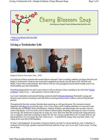 Cherry Blossom Soup