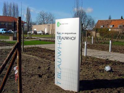 Bezoek Woon- en Zorgcentrum 't Blauwhof Steendorp 2004