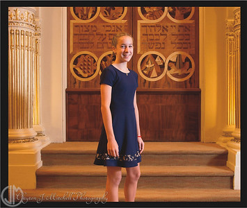 Sophia Vitek Bat Mitzvah Album Proofs