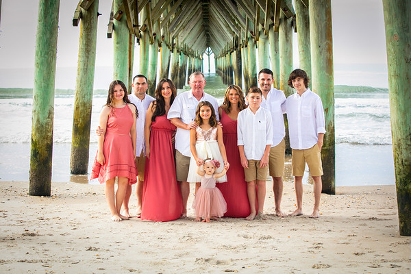 Diana G Family at Topsail Island NC