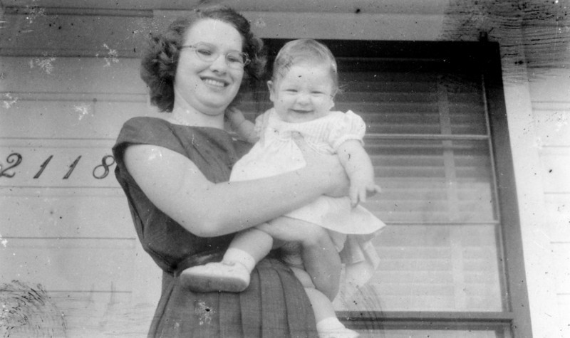 Janice Smock First Easter 1952