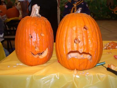 Pack 12 Pumpkin Carving, 2007