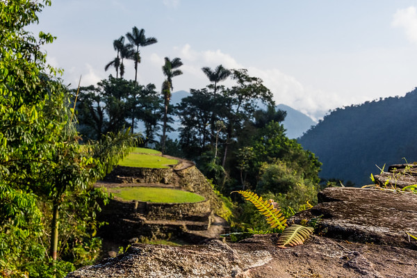 2017 Wiwa tour to the Lost City in Colombia
