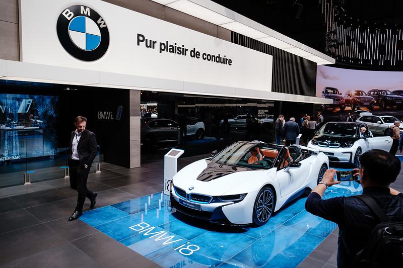 The BMW i8 Roadster - Samuel Zeller for the New York Times