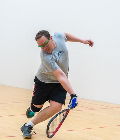 Men's Age Singles - 35-55 Open/Elite Final Francis Anum over Gregory Fox
