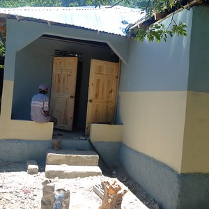 Pignon, Haiti finished homes