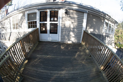 2nd Floor Garden deck