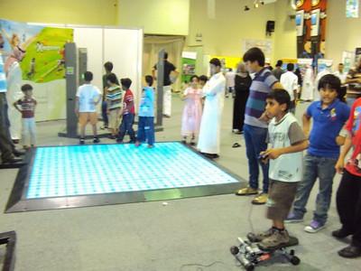 Exergame Fitness Dubai @ SciTech