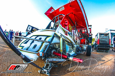 Williams Grove Speedway All Stars - 8/24/18 - David Dellinger