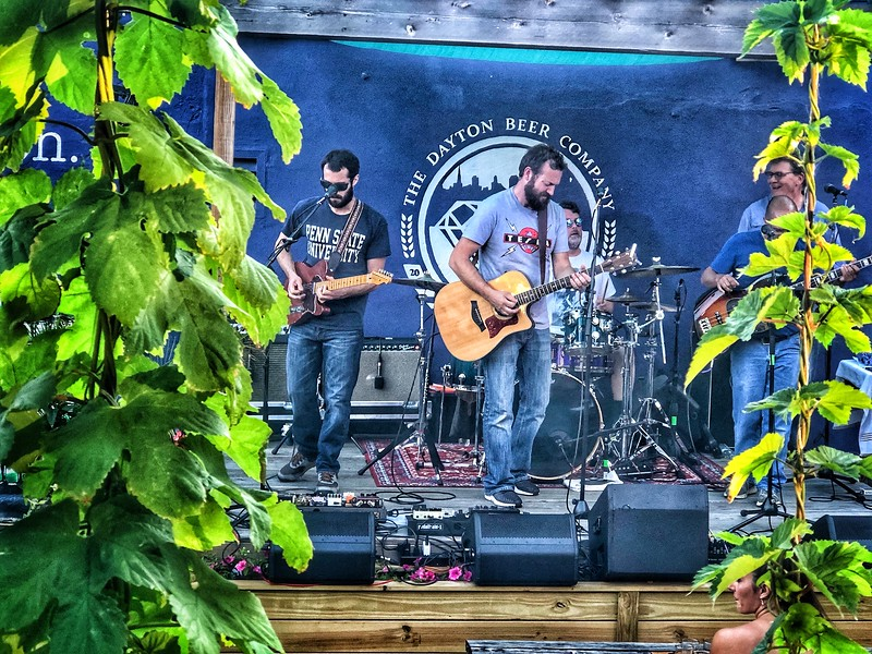 7th Street band at Dayton Beer Co...