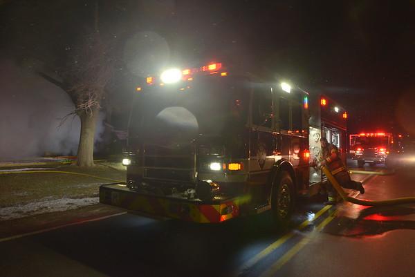 Allen Park - House Fire - Moran road