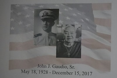 Captain John J. Gaudio Sr. Memorial