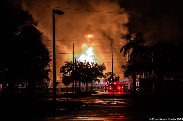 Sistrunk Substation Fire