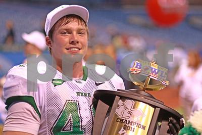 12/20/2011 - Beef O'Bradys St. Petersburg Bowl - Florida International University vs Marshall University - Tropicana Field, St. Petersburg, FL