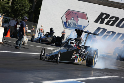 Top Dragster on Track Action