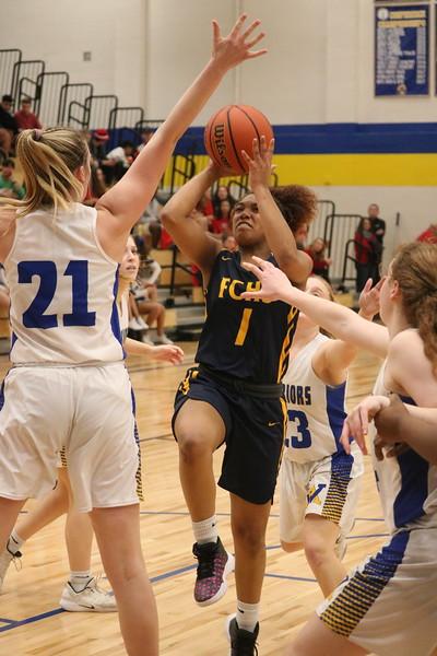 Fluvanna versus Western girls basketball 2020