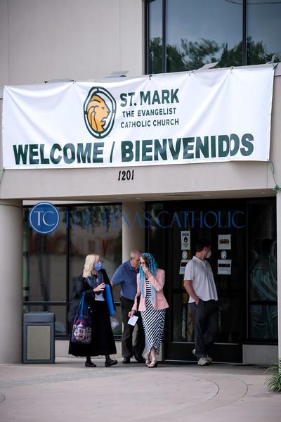 Sunday Mass at St. Mark
